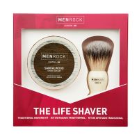 MENROCK The Life Shaver Santalwood SET