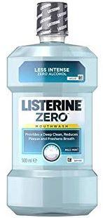 Listerine Mouthwash Zero 500ml
