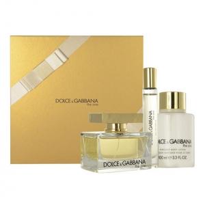 Dolce & Gabbana The One W EDP 75ml + BL 100ml + Edt 7,4ml