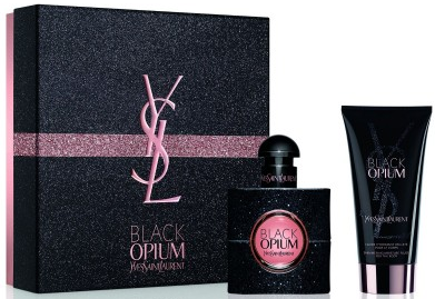 Yves Saint Laurent Black Opium W EDP 30ml + BL 50ml