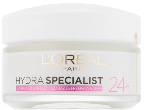 L'Oréal Paris Hydra Specialist 24H Dry and Sesitive Skin 50 ml
