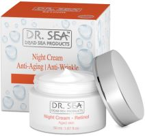 DR. SEA Retinol Anti-Aging / Anti-Wrinkle Night Cream Aged Skin 50ml