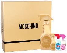 Moschino Fresh Couture Gold W EDP 50ml + EDP 5ml + EDT 5ml + EDT 5ml