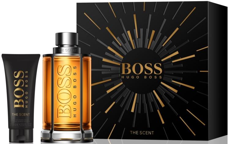 Hugo Boss The Scent M EDT 200ml + ASB 75ml
