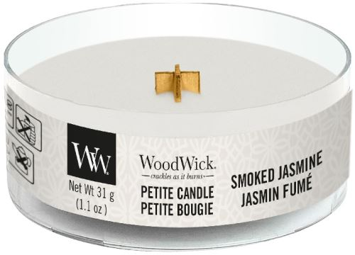 WoodWick Petite Candle Smoked Jasmine 31g
