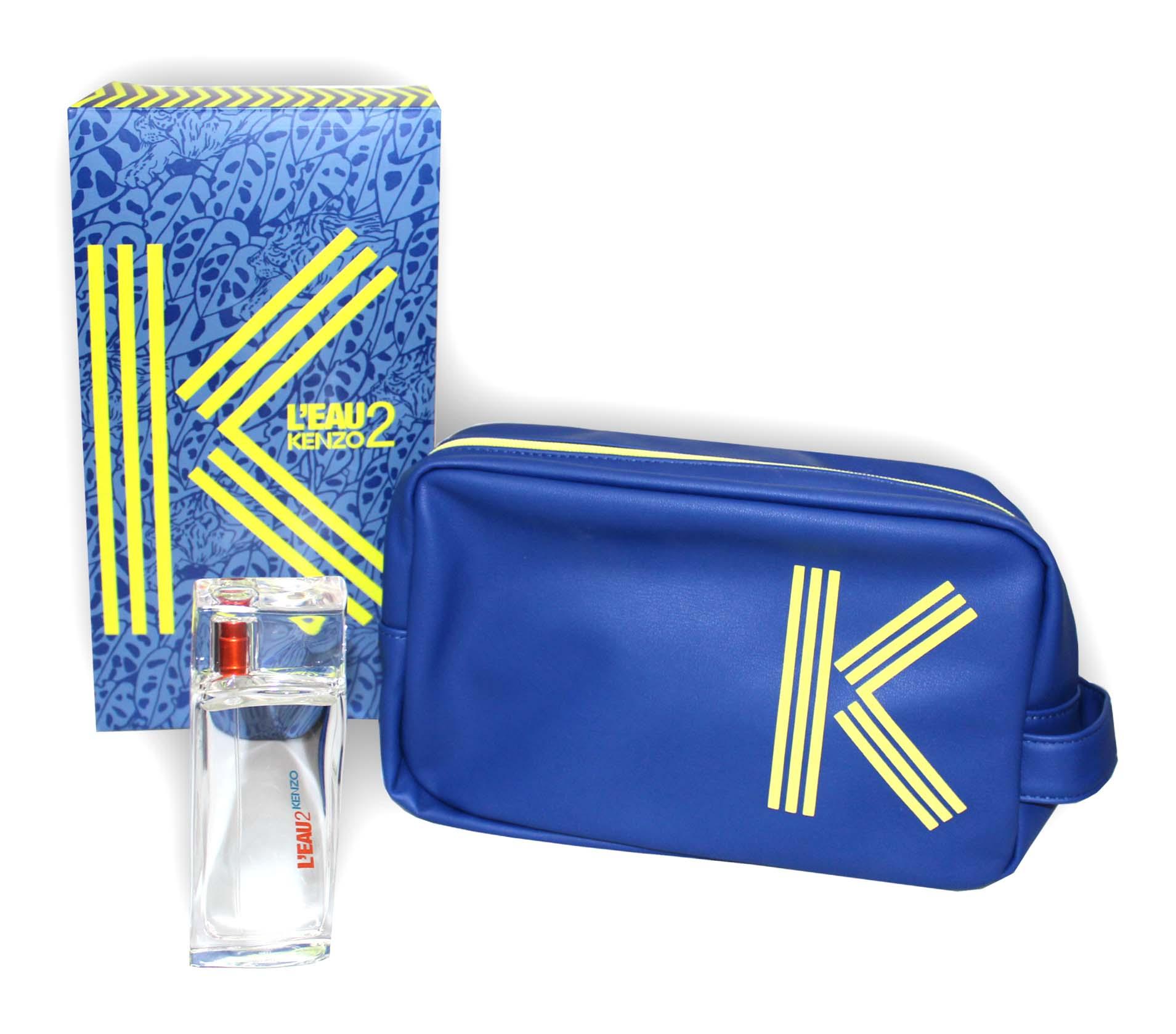 Kenzo L'eau Par Kenzo E2K M EDT 50ml + Fashion Pouch