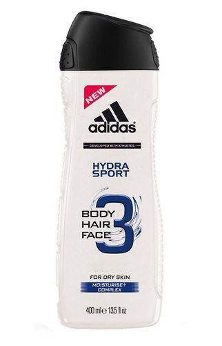 Adidas 3in1 Hydra Sport sprchový gel 250 ml Pro muže