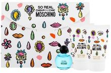 Moschino So Real Cheap and Chic W EDT 4,9ml + SG 25ml + BL 25ml