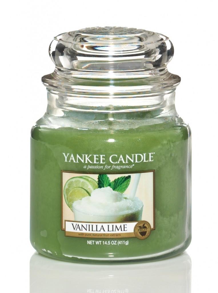 Yankee Candle Vanilla lime 411g