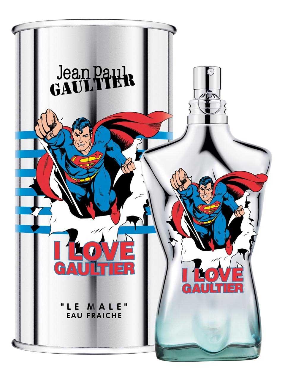 Jean Paul Gaultier Le Male Superman Eau Fraiche M EDT 75ml