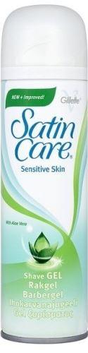 Gillette Satin Care Sensitive Skin gel na holení pro citlivou pokožku 200 ml Pro ženy