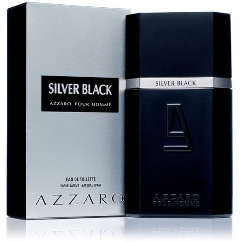 Azzaro Silver Black toaletní voda 100 ml Pro muže