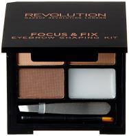Makeup Revolution London Focus & Fix Eyebrow Shaping Kit