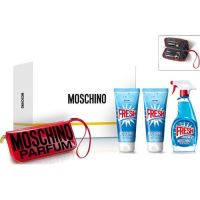 Moschino Fresh Couture 100ml EDT + 100 ml BL + 100ml SG + Manicure Set
