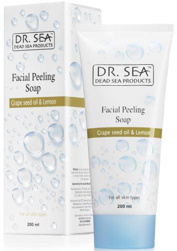 DR. SEA Grapeseed Oil & Lemon Facial Peeling Soap 200ml