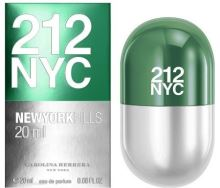 Carolina Herrera 212 NYC New York Pills W EDT 20ml