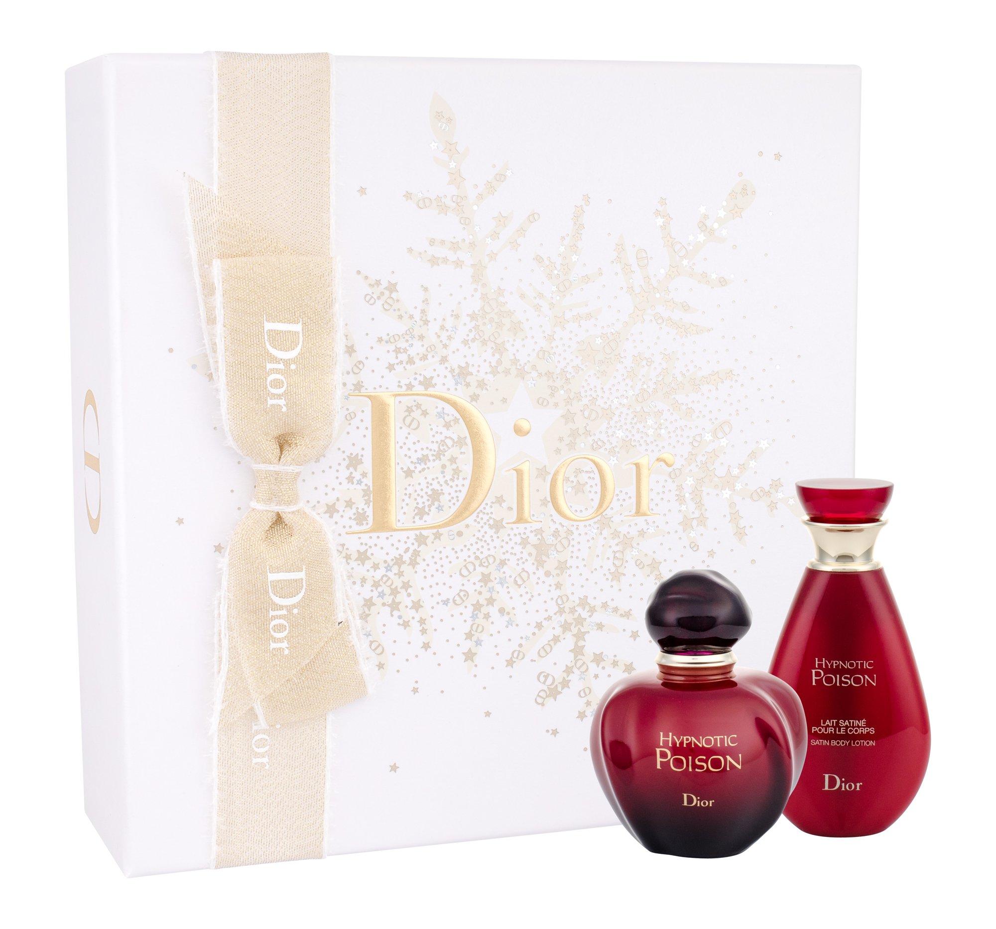 Christian Dior Hypnotic Poison W EDT 50 toaletní voda 50 ml + tělové mléko 50 ml