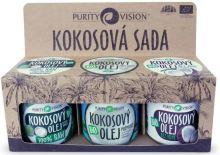 Purity Vision Kokosová sada 3x120 ml