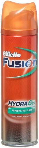 Gillette Fusion gel na holení pro citlivou pleť 200 ml