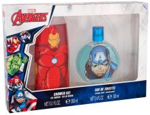 Marvel Avengers Captain America EDT 100ml + SG Iron Man 300ml