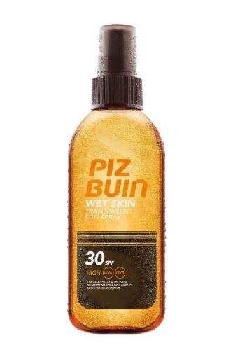 Piz Buin Wet Skin sprej na opalování SPF 30 150 ml