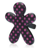Mr&Mrs Fragrance Niki Pink Jasmine Anti-Tabacco - černá, růžový puntík