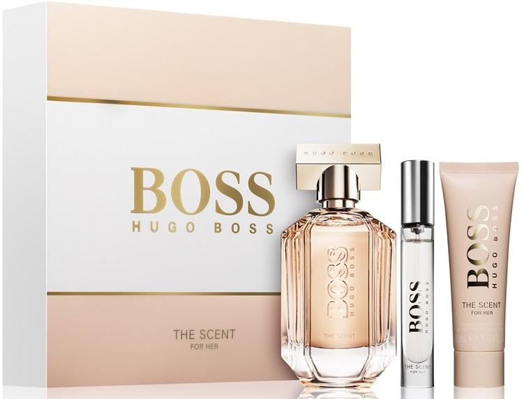 Hugo Boss The Scent For Her W EDP 100ml + BL 50ml + EDP 7,4ml