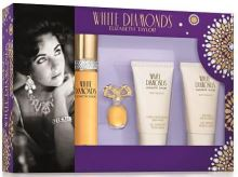 Elizabeth Taylor White Diamonds W EDT 50 ml + EDP 3,7ml + BL 50ml + SG 50ml