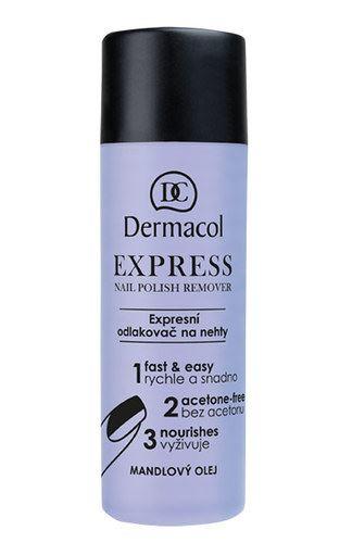 Dermacol Express Nail Polish Remover 120ml W