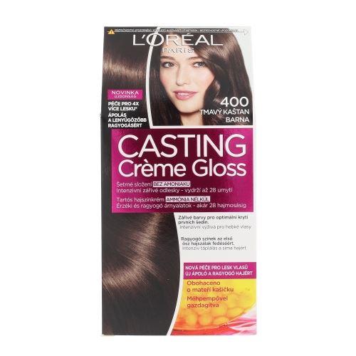 L'Oréal Paris Casting Creme Gloss 1ks W 400 Dark Brown