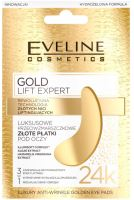 Eveline Gold Lift Expert Luxury Anti-Wrinkle Golden Eye Pads
