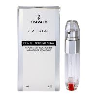 Travalo Crystal HD Elegance - 65 Sprays - Silver