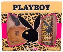 Playboy Play It Wild For Her W EDT 90ml + deodorant 150ml