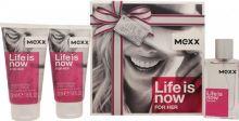 Mexx Life is Now W EDT 30ml + BL 2x50ml