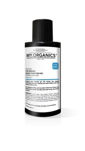My.Organics The Organic Amuny Purifying Gel Aloe Vera dezinfekční gel 150 ml