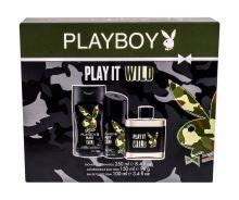 Playboy Play It Wild M EDT 100ml + SG 250ml + deodorant 150ml