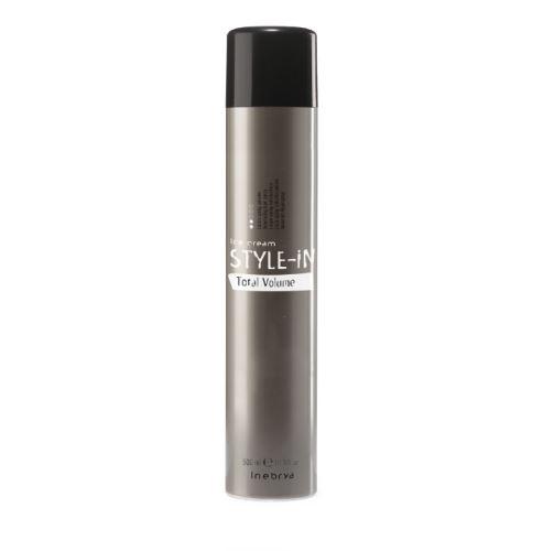 Inebrya STYLE-IN Total Volume lak na vlasy 500 ml