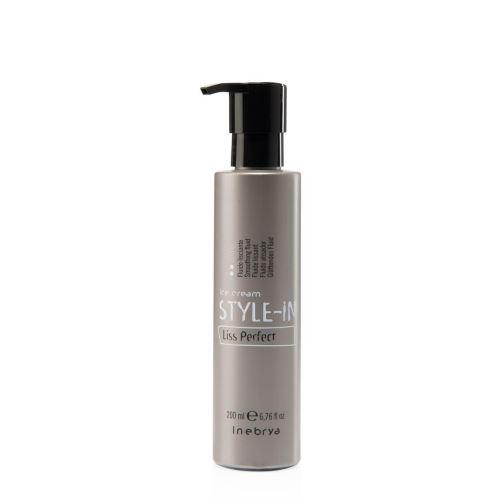 Inebrya STYLE-IN Liss Perfect uhlazující báze na vlasy 200 ml