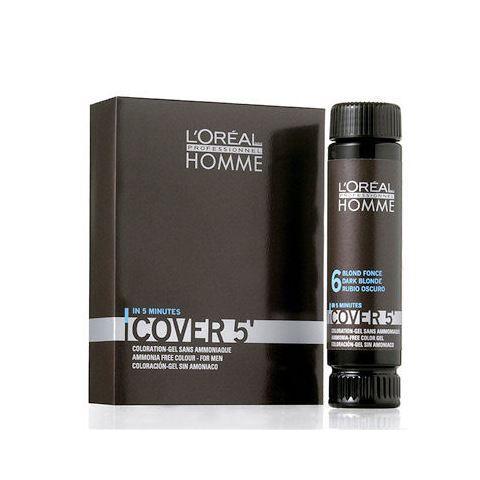 L'Oréal Professionnel Homme Cover 5 Hair Color 3x50 ml M 3 Dark Brown