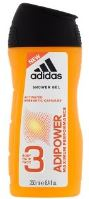 Adidas AdiPower Shower Gel M 250ml