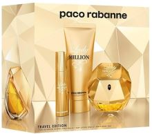 Paco Rabanne Lady Million W EDP 80ml + BL 75ml + EDP 10ml