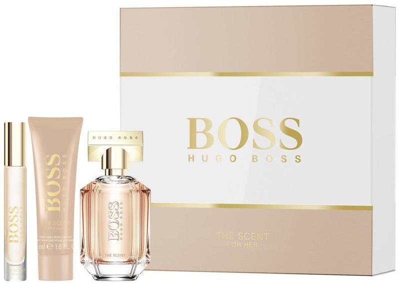Hugo Boss Boss The Scent For Her W EDP 50ml + EDP 4ml + BL 50ml