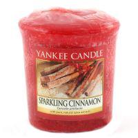 Yankee Candle Votivní svíčka Sparkling cinnamon 49g