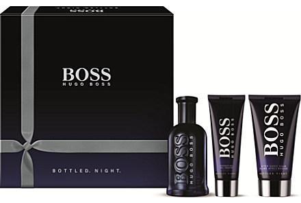 Hugo Boss Bottled Night M EDT 100ml + ASB 75ml + SG 50ml SET