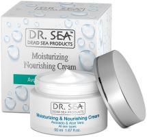 DR. SEA Avocado & Aloe Vera Moisturizing Nourishing Cream 50ml