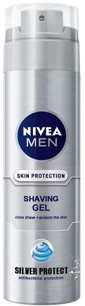 Nivea Men Silver Protect Shaving Gel 200ml