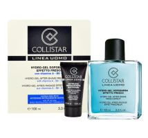 Collistar Men Hydro-gel After Shave Fresh Effect 130ml M 100 ml After-Shave Gel + 30 ml Anti-Wrinkle Cream