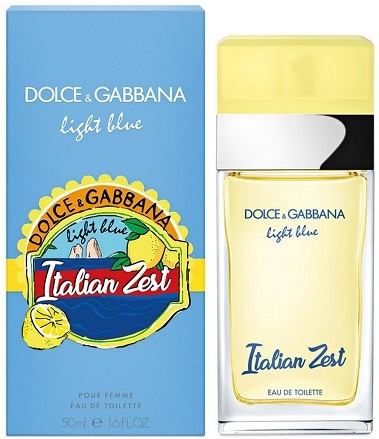 Dolce & Gabbana Light Blue Italian Zest W EDT 50ml