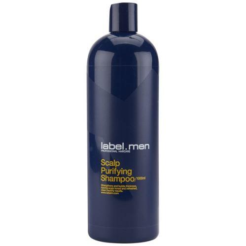 label.men Scalp Purifying Shampoo 1000ml/pánský čistící šampon na zklidnění a proti lupům