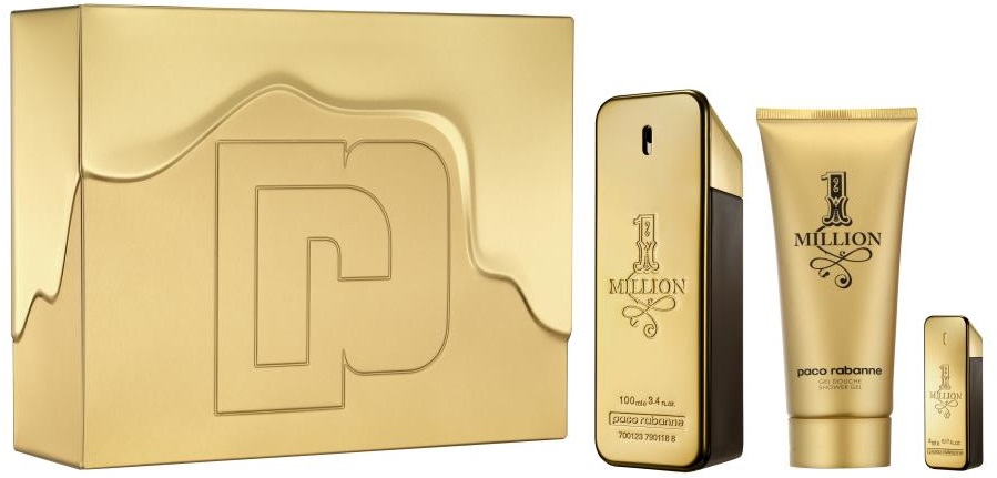 Paco Rabanne 1 Million M EDT 100ml + SG 100ml + EDT 5ml
